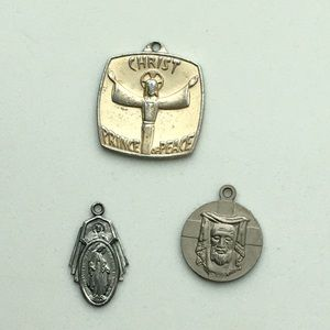 Antique catholic pendants